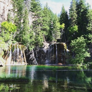 Hanging Lake in July